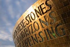 Centre de millénaire du Pays de Galles, Cardiff Images stock