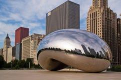 Centre de millénium Chicago du centre Photographie stock libre de droits