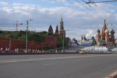 Centre de Moscou Photos libres de droits