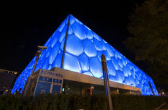 Centre de natation de la Chine Photos libres de droits