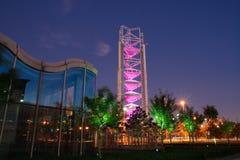 Centre de nouvelles pour Pékin 2008 olympique Photo libre de droits