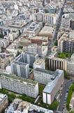 Centre de Paris des tailles Images stock