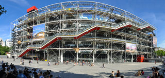 Centre de Pompidou Stockfotos