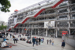 Centre de Pompidou, Paris Royalty Free Stock Images