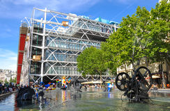 Centre de Pompidou Royalty Free Stock Images