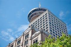 Centre de port, Vancouver Images stock
