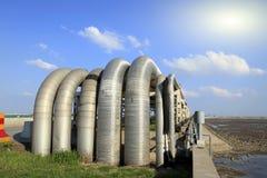 Centre de raffinerie en Sibérie occidentale photo libre de droits