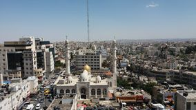 Centre de Ramalla AlBira image libre de droits