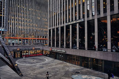 Centre de Rockefeller, New York, Etats-Unis Photographie stock