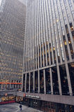 Centre de Rockefeller, New York, Etats-Unis Image stock