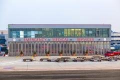 Centre de service médical de secours à Images stock