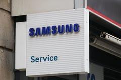 Centre de service de Samsung image libre de droits