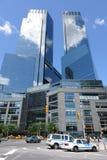 Centre de Time Warner au cercle de Columbus Image libre de droits