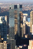 Centre de Time Warner, Manhattan Photos libres de droits