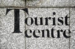Centre de touristes Images libres de droits