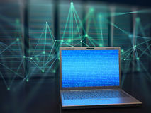 Centre de traitement des données Access Images libres de droits