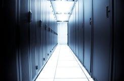 Centre de traitement des données d'ordinateur Image stock