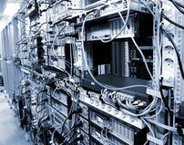 Centre de traitement des données de corporation Images stock
