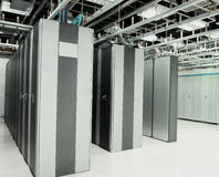Centre de traitement des données Photographie stock