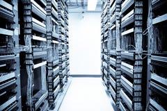 Centre de traitement des données de réseau Photographie stock libre de droits
