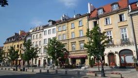 Centre de Varsovie images libres de droits
