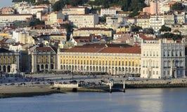 Centre de ville à Lisbonne, Portugal Photographie stock