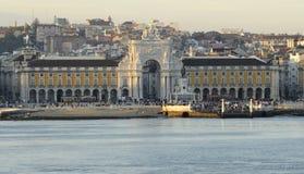 Centre de ville à Lisbonne, Portugal Images stock