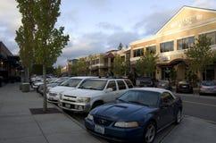 Centre de ville américain Image stock