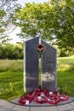 Centre de ville commémoratif de Telford Shropshire Image libre de droits