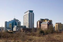 Centre de ville de Basingstoke Image libre de droits