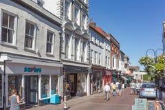 Centre de ville de St Edmunds d'enfouissement Images stock