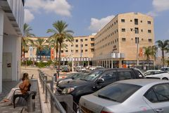 Centre de ville de Sderot, Israël, #1 Image libre de droits