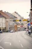 Centre de Vinkovci Photographie stock libre de droits
