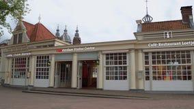 Centre de visiteur d'Amsterdam à la station centrale - AMSTERDAM - LES PAYS-BAS - 19 juillet 2017 banque de vidéos