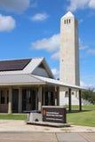 Centre de visiteur de champ de bataille de Chalmette image libre de droits