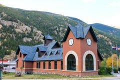 Centre de visiteur de passage de Georgetown chez le Colorado Photographie stock