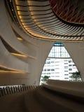 Centre de Westkowloon XiQu en Hong Kong images libres de droits