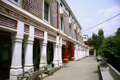 Centre de yoga dans le rishikesh Image stock