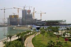Centre du sud-est international d'expédition de Xiamen Images libres de droits