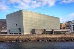Centre et amphithéâtre de congrès de Kursaal Photo libre de droits