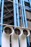 Centre Georges Pompidou Lizenzfreies Stockfoto