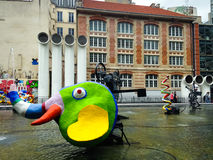 Centre Georges Pompidou Paris Image stock