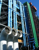Centre Georges Pompidou in Paris, France Royalty Free Stock Photography