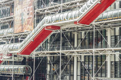 Centre Georges Pompidou - Paris. Stock Photography
