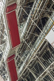 Centre Georges Pompidou - Paris. Royalty Free Stock Photography
