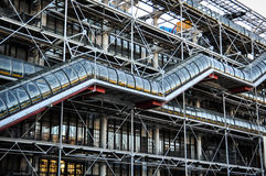 Centre of Georges Pompidou Royalty Free Stock Image
