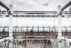 Centre Georges Pompidou Paris France Stock Image