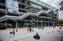 Centre Georges Pompidou Paris France Royalty Free Stock Photo