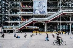 Centre Georges Pompidou Paris France Royalty Free Stock Photos