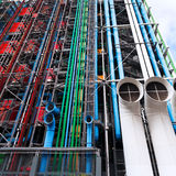Centre Georges Pompidou in Paris Royalty Free Stock Image